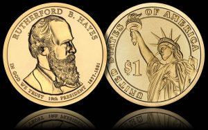 Rutherford B. Hayes Presidential Dollar Coin