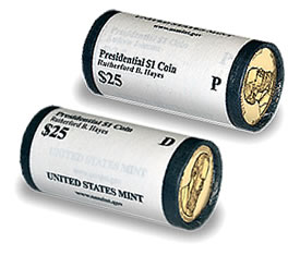 Rutherford B. Hayes Presidential Dollar Rolls