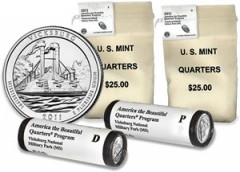 Vicksburg National Military Park Quarter Bags and Rolls