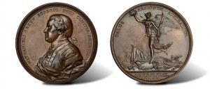 1781 Nathanael Greene at Eutaw Springs Medal