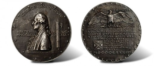 1889 Washington Inauguration Centennial Medal