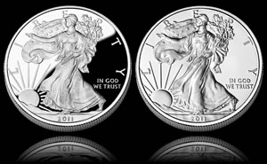 2011 Numismatic American Silver Eagles