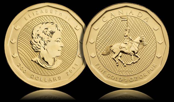 2011 RCMP Gold Bullion Coin
