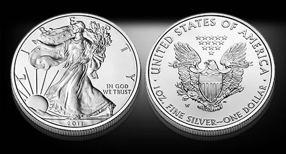 2011-W Uncirculated American Silver Eagle