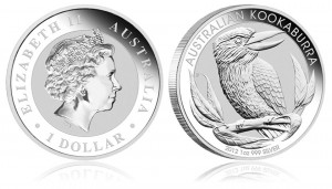 2012 Australian Kookaburra 1 Ounce Silver Bullion Coin