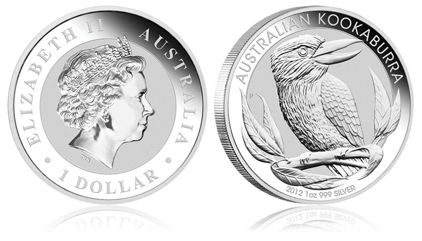 2012 Australian Kookaburra Silver Bullion Coins Released