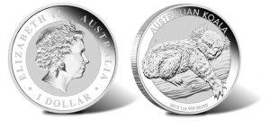 2012 Australian Silver Koala Coin (1 oz)