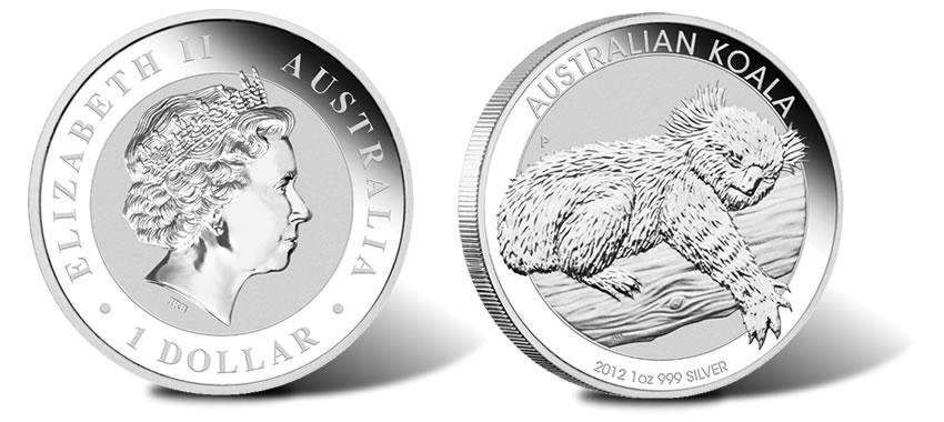 1 Kilo Australian Silver Kookaburra Coin 1992