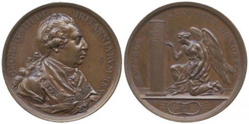 British Victories of King George III, Bronze Medal