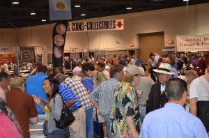 Busy Long Beach Coin Expo, September 2011