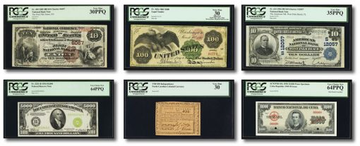 Heritage September Long Beach Currency Auction Highlights