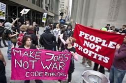 Makes Jobs Not War Photo