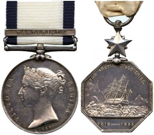 Naval General Service Martinique and Arctic Exploration Pair