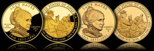 Proof and Uncirculated 2011 Lucy Hayes First Spouse Gold Coins