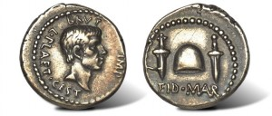 The Immortal Ides of March Denarius Coin