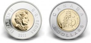 2011 Boreal Forest $2 circulation coin