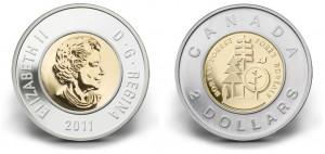 2011 Boreal Forest $2 circulation coin