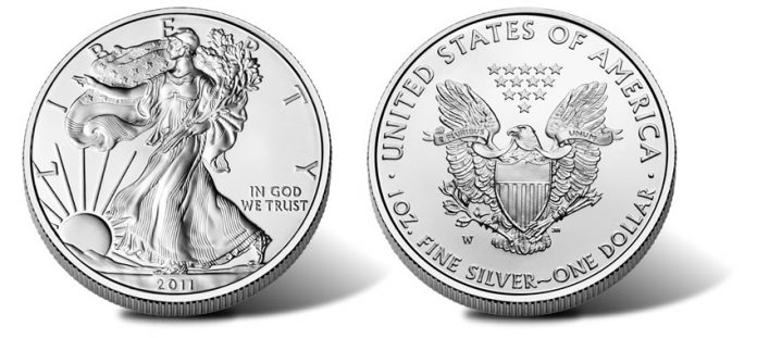 2011-W Uncirculated American Silver Eagle Coin