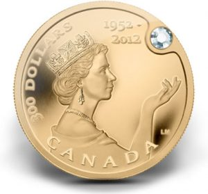 2012 $300 The Queen's Diamond Jubilee Gold Coin