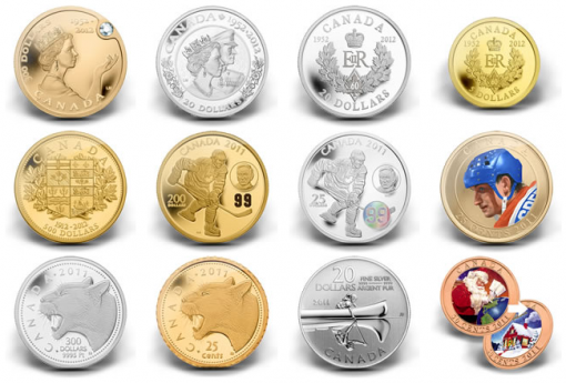 Royal Canadian Mint's Newest 2011-2012 Collector Coins