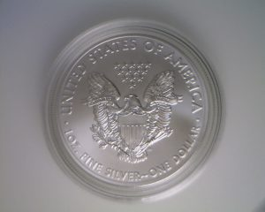 2011 Bullion American Silver Eagle (reverse)