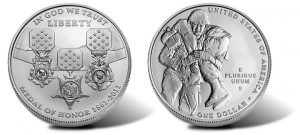 2011 Medal of Honor Silver Uncirculated Coin