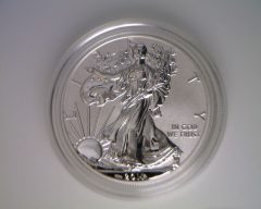 2011-P Reverse Proof American Silver Eagle (obverse)