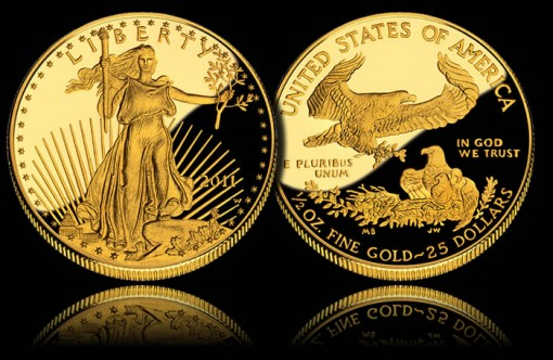 2011-W $25 American Gold Eagle Proof Coin
