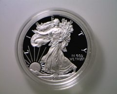 2011-W Proof American Silver Eagle (obverse)