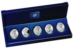 American Silver Eagle Anniversary Set