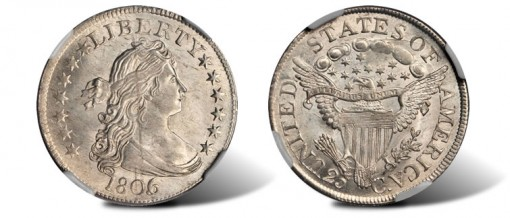 1806-5 Draped Bust Quarter