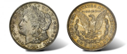 1921 Chapman Proof Morgan Silver Dollar