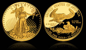 2011-W $10 Proof Gold Eagle Coin