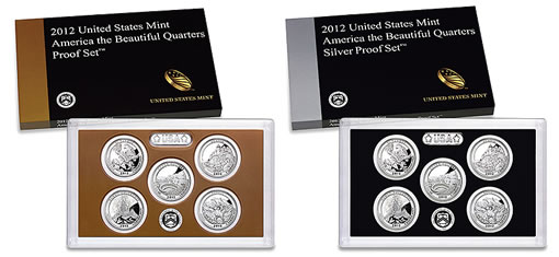 2012 America the Beautiful Quarters Proof Sets