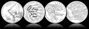 2012 Star-Spangled Banner Gold and Silver Commemorative Coin Designs