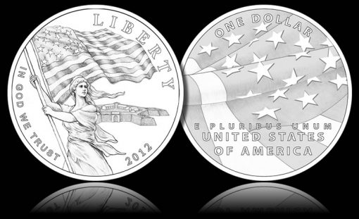2012 Star-Spangled Banner Silver Commemorative Coin Designs