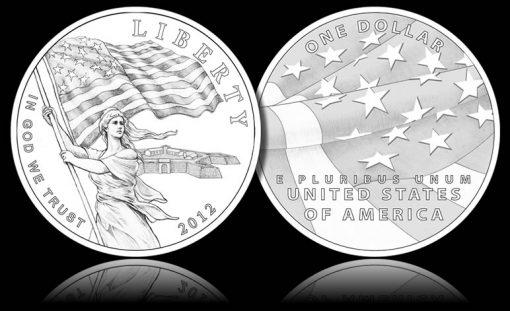 2012 Star-Spangled Banner Silver Commemorative Coin Designs