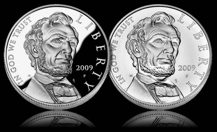 Abraham Lincoln Commemorative Coins (Proof and Uncirculated Silver Dollars)