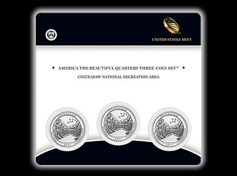 Chickasaw Quarter Three-Coin Set
