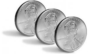 Steel Appearing Cents