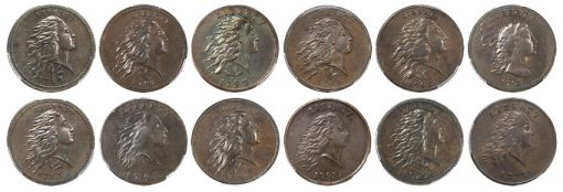 The Denis W. Loring Collection of 1793 Large Cents