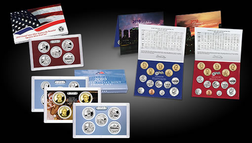 US Mint 2010 Annual Sets