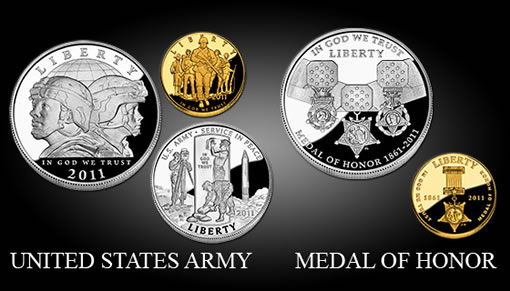 US Mint 2011 Commemorative Coins
