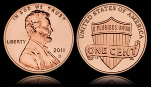 2011 Lincoln Cent