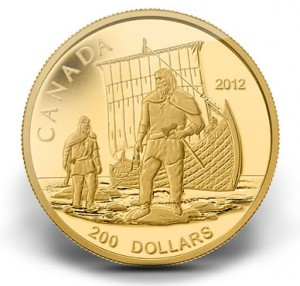 2012 $200 VIKINGS GOLD COIN
