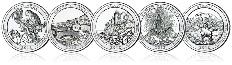 Circulating Quality S America The Beautiful Quarters For - Us quarter collector map