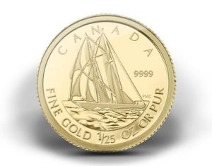 2012 BLUENOSE GOLD COIN