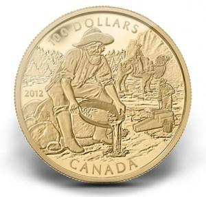 2012 CARIBOO GOLD RUSH ANNIVERSARY COIN
