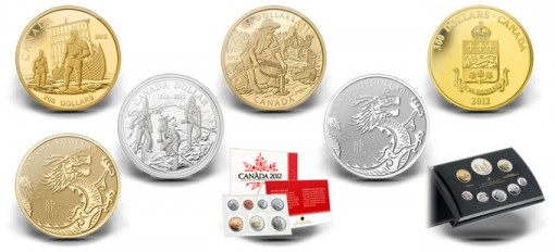 2012 Canadian Collector Coins