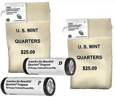 2012 El Yunque Quarter Rolls and Bags